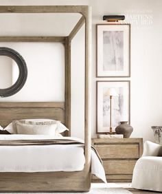 A bedroom to relax and feel like a queen ;)