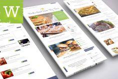 Foodica - Food WordPress Blog Theme by Wordica on ETSY