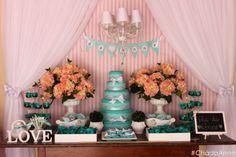 Chá de lingerie Tiffany & Co ♥ Anne  