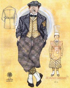 The Drowsy Chaperone. Costume design by Gregg Barnes.