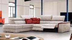 Canapé Relax Home Salon Canape Angle Relax, Home Salon, Piece A Vivre, Sofa, Couch, Preston, Modern Design, Furniture, Home Decor