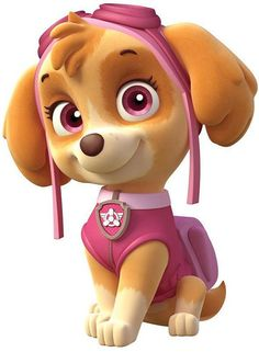 Paw Patrol Skye Girl Dog Iron on Transfer by DesignsByBrinley, $2.50