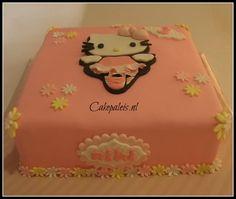 Hello Kitty ballerina taart