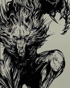 Werewolf Girl, Werewolf Hunter, Weird Creatures, Mythical Creatures, Shadow Wolf, Fantasy Art, Dark Fantasy, Wolf Wallpaper, Wolf Pictures