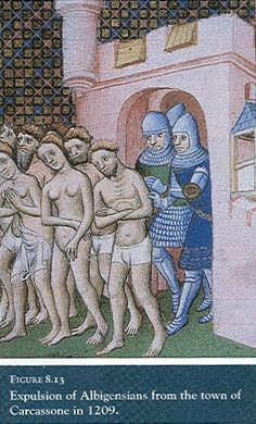 The Albigensian Crusade was declared in 1208. The main reason was a different way of Albigen´s thinking about church problems - the Crusaders wanted to eliminate the heretical Cathars of Occitania (modern-day southern France).