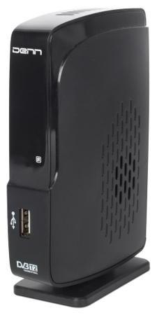 Denn Denn DDT105  — 1590 руб. —  TV-тюнер Denn DDT105 может использоваться для просмотра цифровых телеканалов, соответствующих стандарту DVB-T или DVB-T2. Отличное качество мультимедиа. Устройство поддерживает работу с современными каналами, использующими разрешение Full HD 1080. Благодаря этому удается достичь высокой детализации изображения на экране телевизора. Кроме того, тюнер совместим с технологией Dolby Digital, позволяющей получить объемное звучание при помощи акустической системы…
