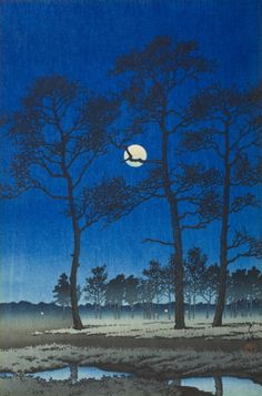 Winter Moon (Toyamagahara) | LACMA Collections