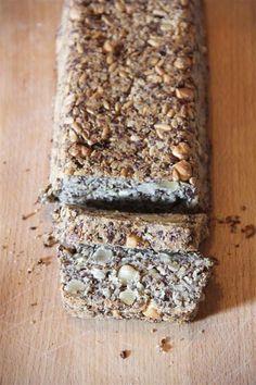 Allerlekkerste havermoutbrood met vlozaad (psyllium husk zaad) – zonder ei en zuivel (vegan dus)!