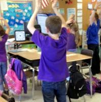 Dance moves for subtraction with regrouping