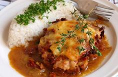 Mashed Potatoes, Rice, Curry, Pork, Food And Drink, Cooking Recipes, Meat, Chicken, Ethnic Recipes