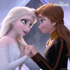 Sisters are forever. #Frozen2 Anna E Elsa, Frozen Elsa And Anna, Queen Elsa, Disney Princess Frozen, Disney Princess Drawings, Disney Princess Pictures, Frozen Wallpaper, Disney Wallpaper, Frozen Film