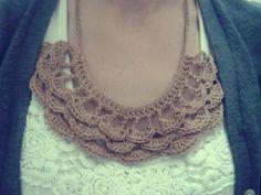 Colar de crochet | Mariana Mazzaro