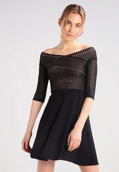 b42d09bfab Dorothy Perkins Sukienka z dżerseju - black - Zalando.pl
