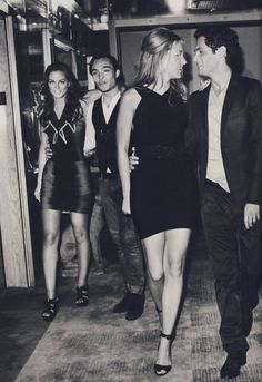 Leighton Meester, Ed Westwick, Blake Lively, and Penn Badgley