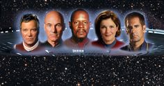 And, we all know Jean Luc Picard, Jonathan Archer, and Kirk are untouchable.