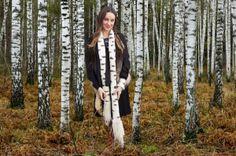 *spirit of the birch*   tiny owl knits