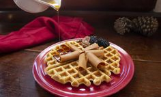 Brunost cheese is fudge-like with a slight sweetness, which adds a perfect layer of complex sweetness to breakfast dishes like French toast or waffles. Banana And Egg, Milk Cake, Waffle Iron, Breakfast Dishes, Brown Butter, Recipe Of The Day, Pecan, Fudge, Waffles