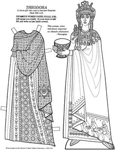 Great Women Coloring paper dolls - Maria Varga - Picasa Albums Web