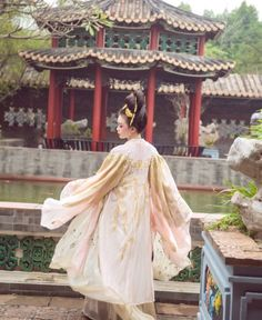 Image about dress in China by AdriannaWolf on We Heart It Traditional Chinese, Traditional Dresses, Asian Fever, Dress Images, Hanfu, China, Gallery, Clothes, Fashion