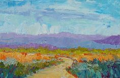 """Summer Meadow, 20x30 Giclee by Michelle Chrisman  ~ 20"""" x 30"""""""