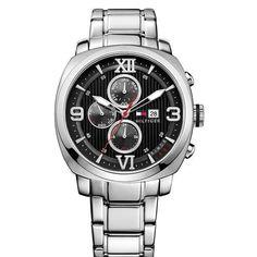 SWISS (Pasaż 0) | zegarek męski Tommy Hilfiger TH1790981  | Promocja z okazji Dnia Ojca - przy zakupie męskiego, stalowego zegarka każdy Klient otrzyma grawerowanie gratis.