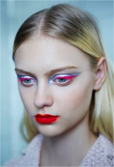 Makeup inspiration! Vibrant sheen <3
