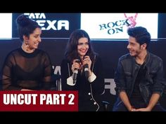 ROCK ON 2 trailer launch | Farhan Akhtar, Shraddha Kapoor, Prachi Desai, Arjun Rampal | PART 2