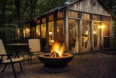 The Glass House - sheds-huts-treehouses