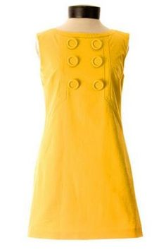 Mod in yellow with BUTTONS!