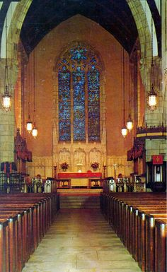 Nave of Bethesda-by-the-Sea Episcopal Church - Palm Beach, Florida
