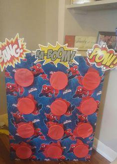 55 Trendy Ideas For Spiderman Birthday Party Games Ideas Spider Man. avenger party games, avenger party games for kids Avengers Birthday, Superhero Birthday Party, Birthday Games, 4th Birthday Parties, Birthday Party Decorations, Boy Birthday, Spiderman Birthday Ideas, Superhero Party Games, Spider Man Birthday