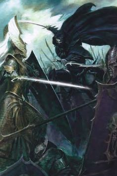 Warhammer Dark Elves, Warhammer Art, Warhammer Fantasy, Fantasy Battle, Dark Fantasy Art, Fantasy Artwork, Fantasy Heroes, Tolkien, Elf City