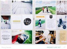 Poet society 15 scrapbooking layout