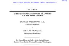 Tech Industrys Filing Against Travel Ban Nearly 100 technology companies said that President Trumps temporary ban on all visitors from seven predominantly Muslim countries would violate both immigration law and the United States Constitution. Technology Executive Orders and Memorandums United States Politics and Government