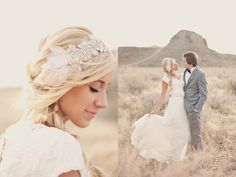 Don't forget your hair! Add a stunning hair accessory like this one to dress up your hair on your wedding day!