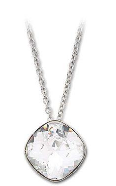 Swarovski 'Talisa' Pendant Necklace - Clear Crystal