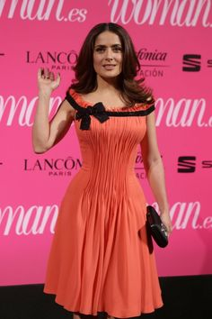 Woman Magazine Awards in Madrid - Female Actresses, Penelope Cruz, Salma Hayek, Awards, Magazine, Formal Dresses, Lady, Madrid, Dreams