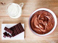 Tortencreme mit Schokolade