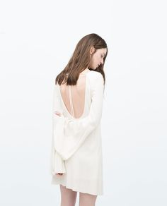 ZARA - NEW THIS WEEK - DRESS WITH LOW-CUT BACK