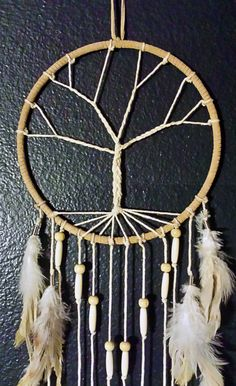 Dream catchers have been used for ages to filter out all bad dreams and only allow good thoughts and energy to slide down the feathers of the sleeper.