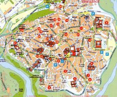 Toledo Map Tourist Attractions httpwwwtripomaticcomSpain