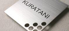 Hyosatsu-Meister | Rakuten Global Market: Door plate stainless stainless steel etched nameplate SE-1515-1-H ひょうさつ