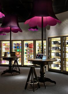 "Love the idea, ""You by Dialect' store in central Stockholm #shop #design"