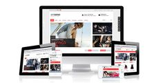 Responsive magento themes MT Dend