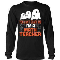 Math Teacher - Halloween Ghost