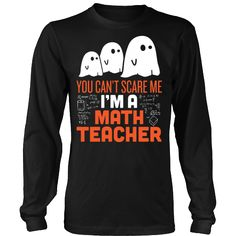 Math Teacher - Halloween Ghost
