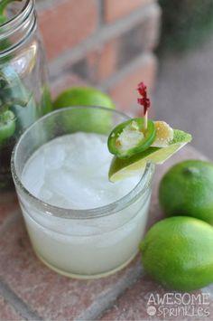 Hot as Jalapeno Margaritas on MyRecipeMagic.com