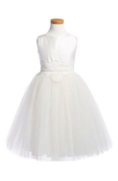 LOOOOVE this dress!      Isabel Garreton 'Enchanting' Sleeveless Tulle Dress (Toddler Girls) available at #Nordstrom