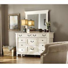 Home Decorators Collection Bridgeport 8-Drawer White Dresser-1872600460 - The Home Depot