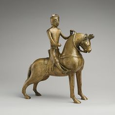 Aquamanile in the Form of a Mounted Knight, probably made in Lower Saxony, Germany, circa 1250, copper alloy